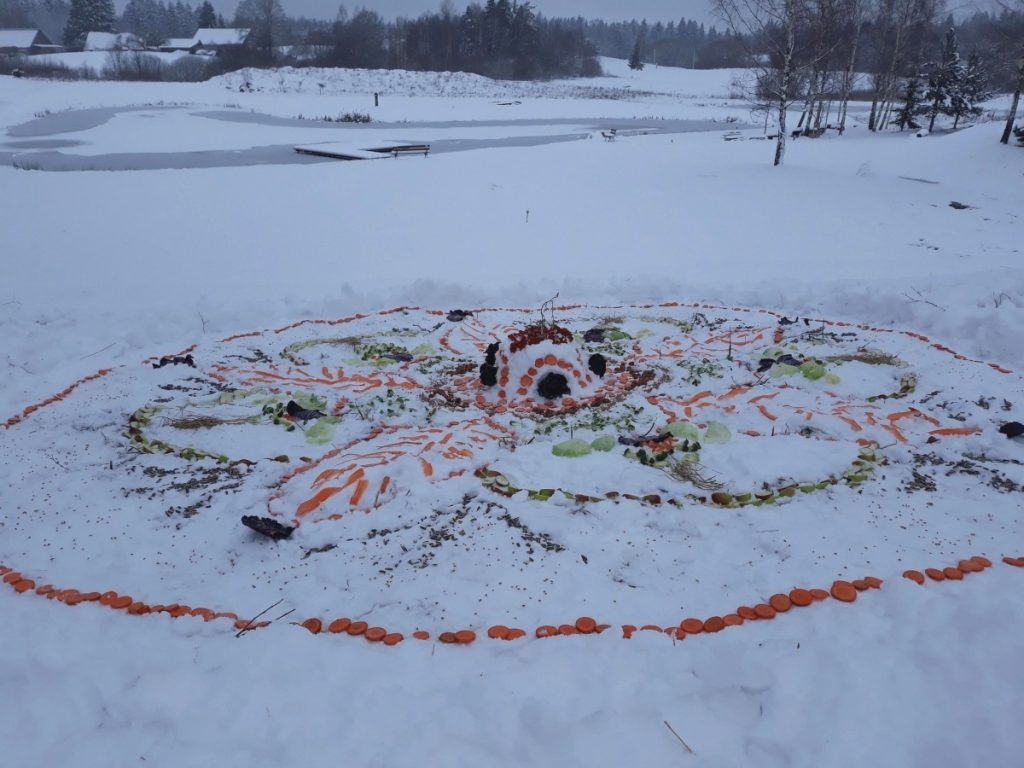 Mandala sniege